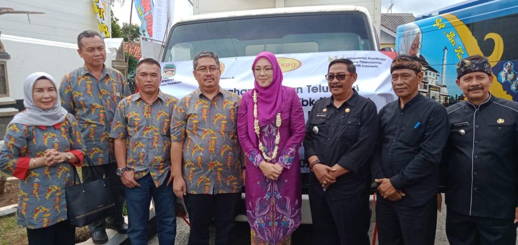 Penyerahan Bantuan Telur dari PT. Malindo Feedmill Tbk, Kepada Pemerintah Kabupaten Purwakarta Melalui Dinas Perikanan dan Peternakan